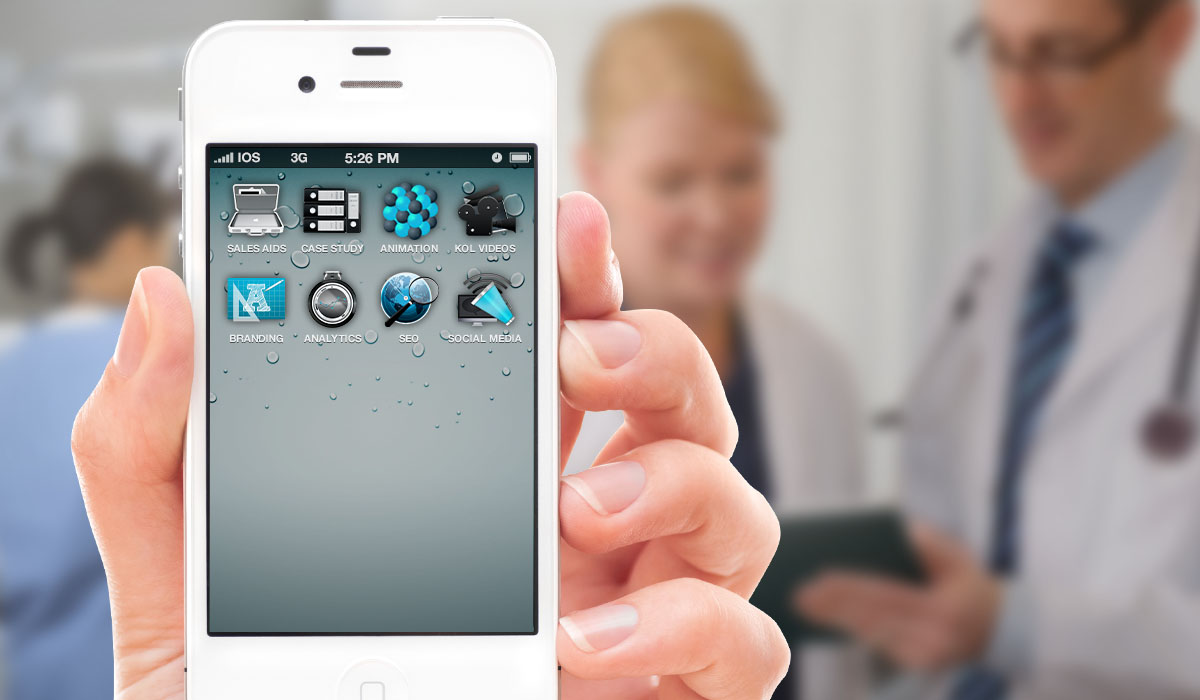 Digital solutions for pharmaceutical design on iphone